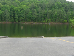 the stamp creek boat ramp