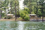 a view of Lake Allatoona and McKinney Campground