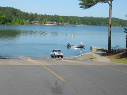 the Galt's ferry boat ramp
