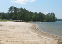 Lake Allatoona, Victoria Park swimming beach 2