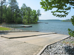 Lake Allatoona, Victoria Park boat launch