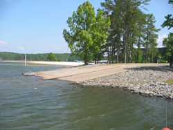 Lake Allatoona, Victoria Park boat launch 2