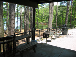 another view of the Bartow County Park back porch